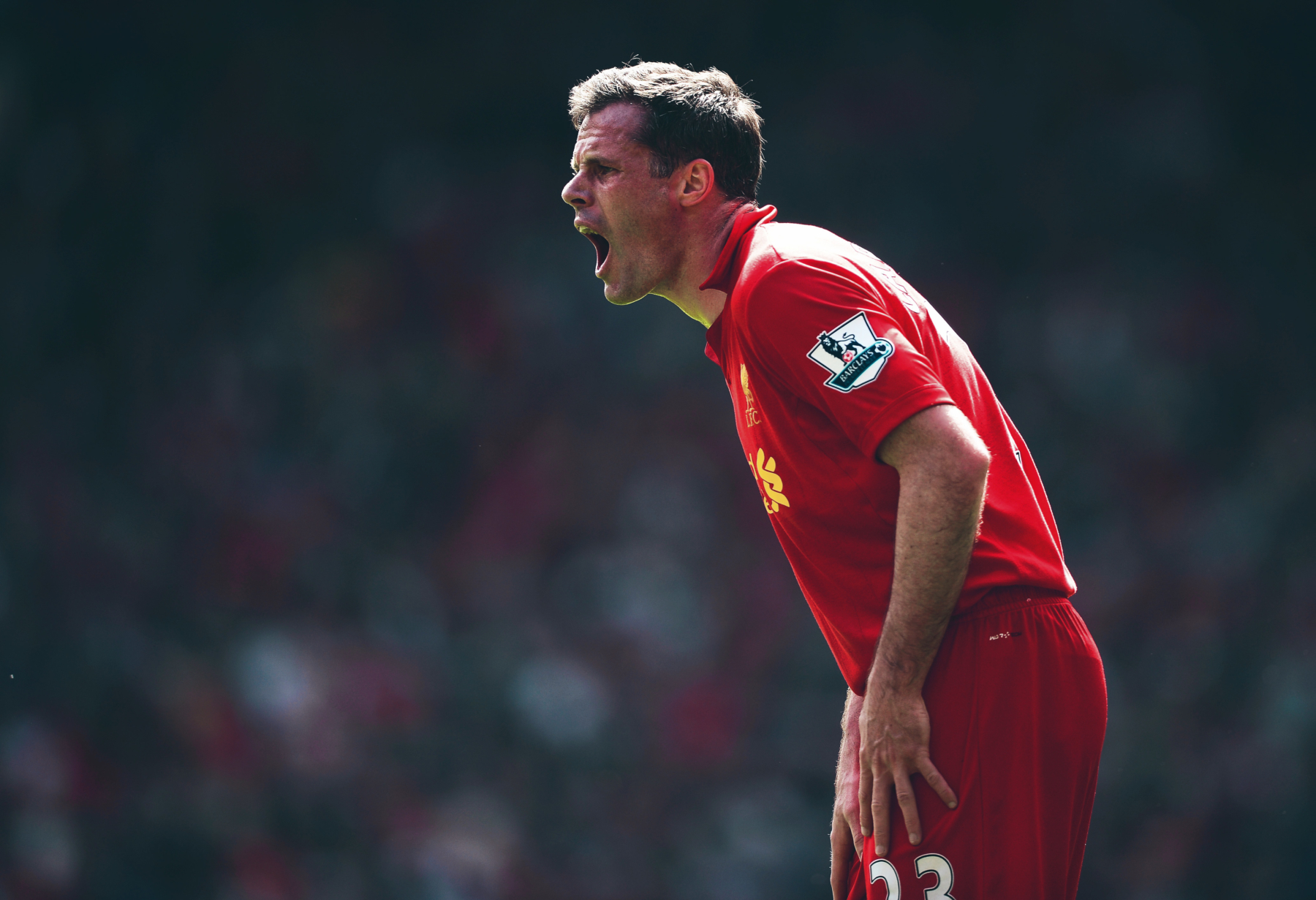 Jamie Carragher: the perfect form of a true football fanatic