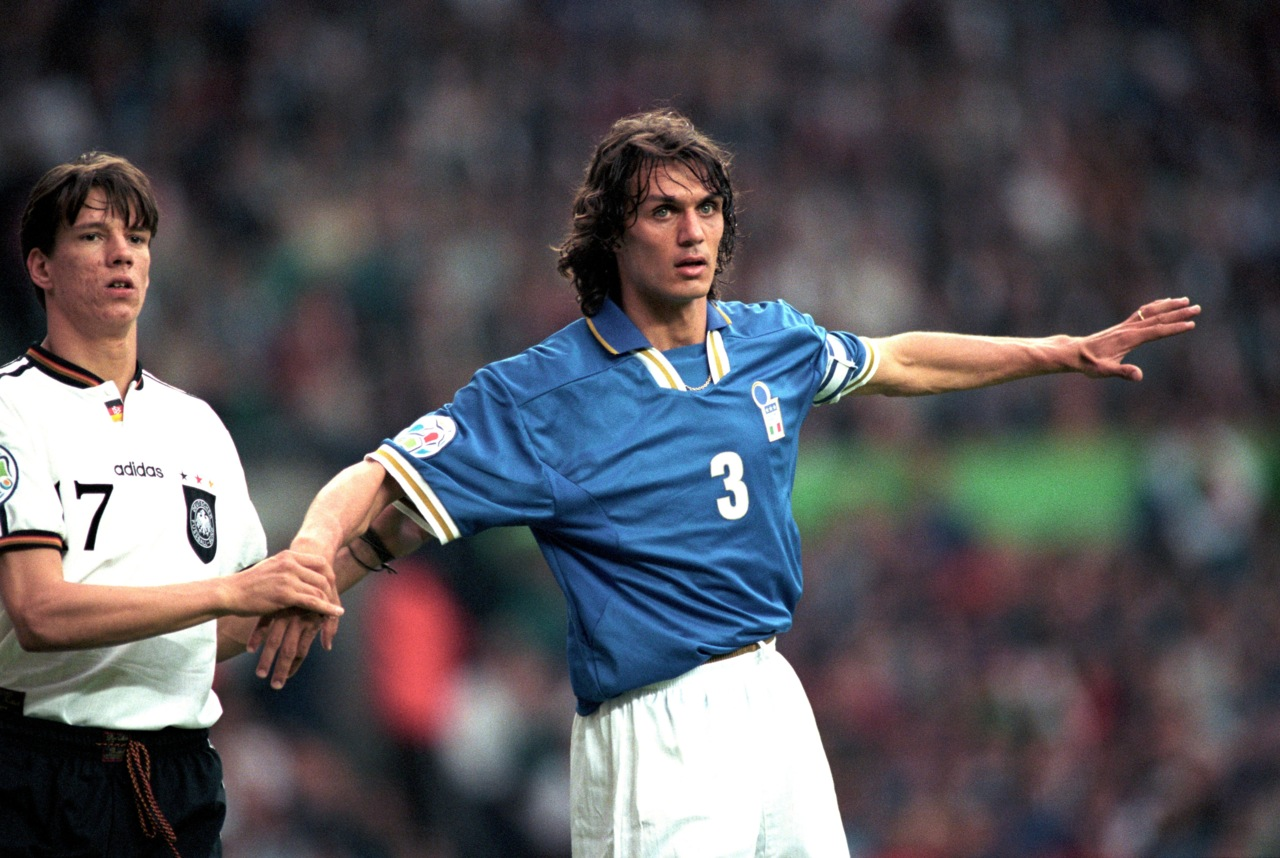 In celebration of Paolo Maldini the greatest defender of his age