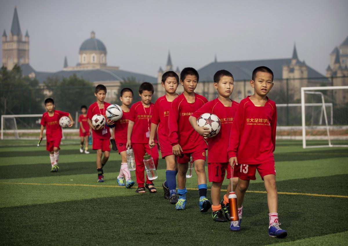 中国足球的故事