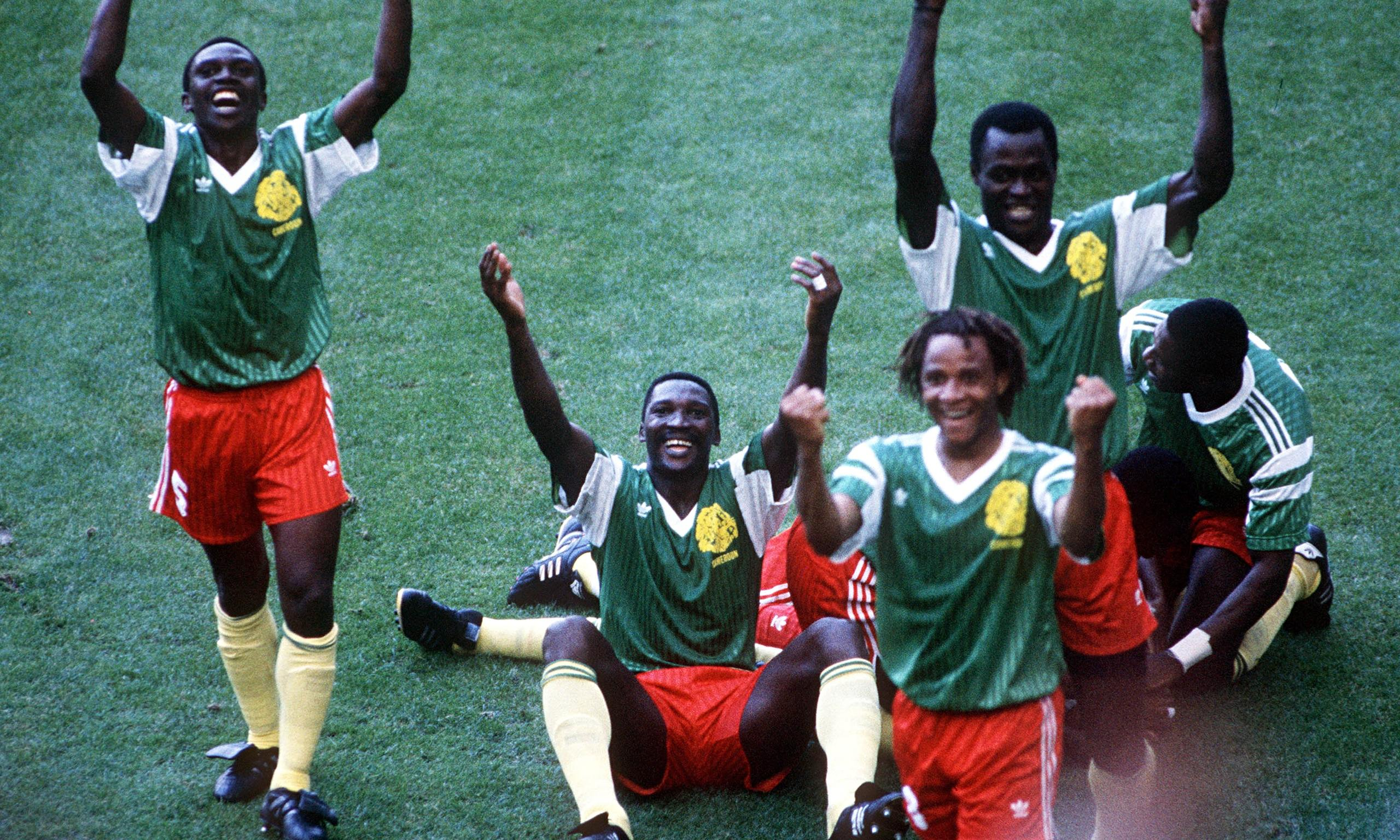 Image result for omam biyik and roger milla