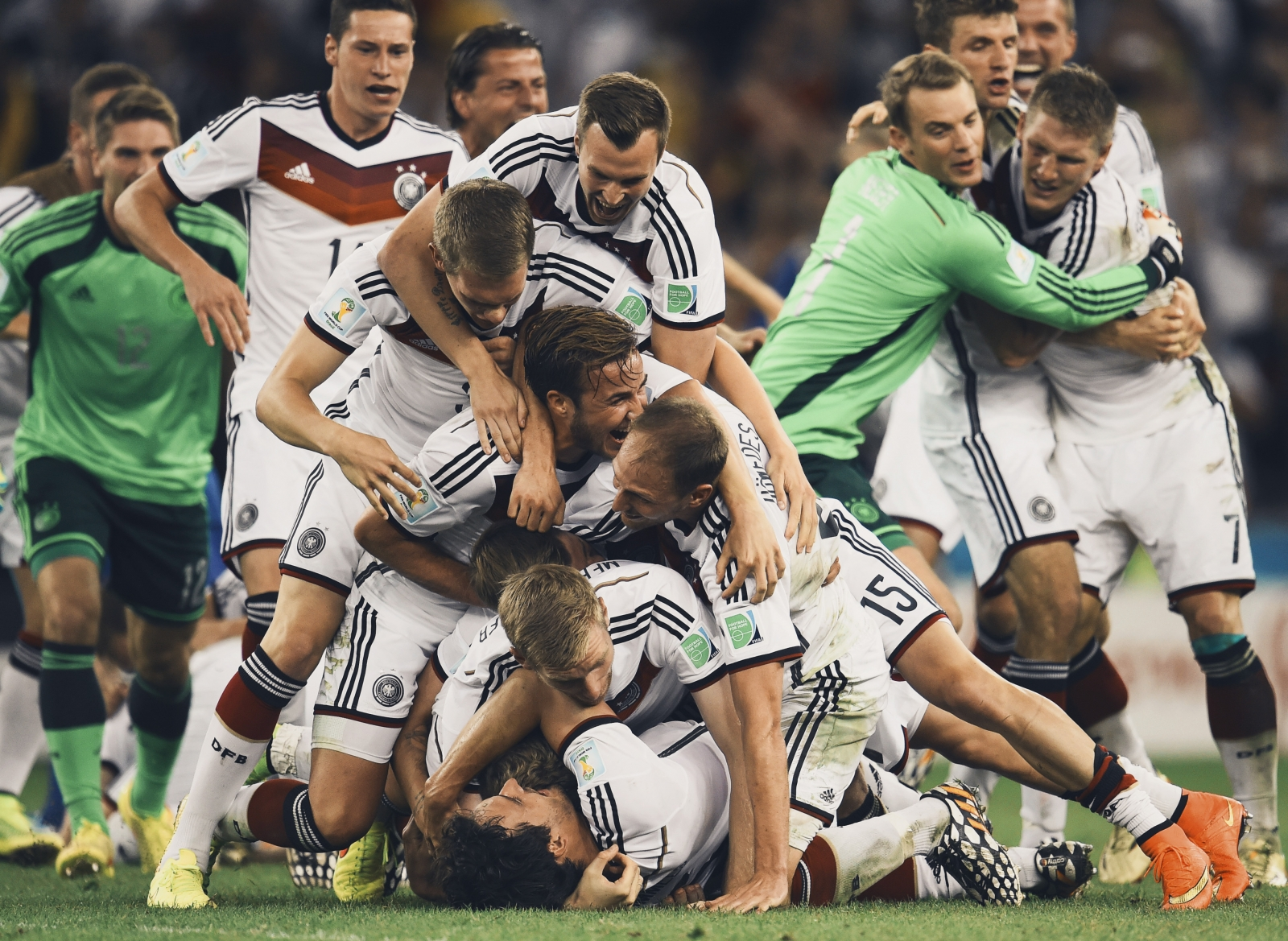 How Germany became an example to the world of football cd7136768