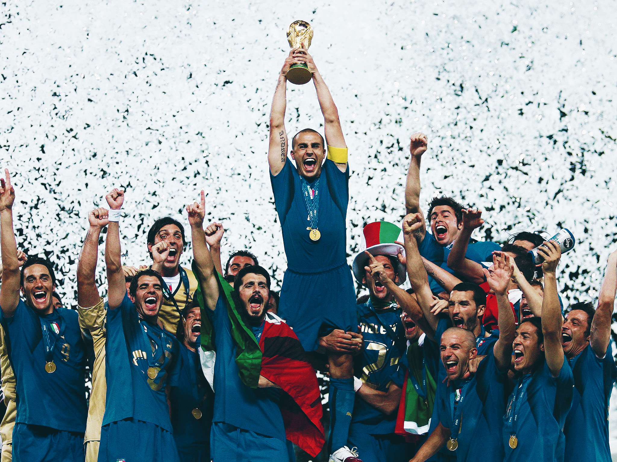 Fabio Cannavaro the street kid from Naples who became the King of