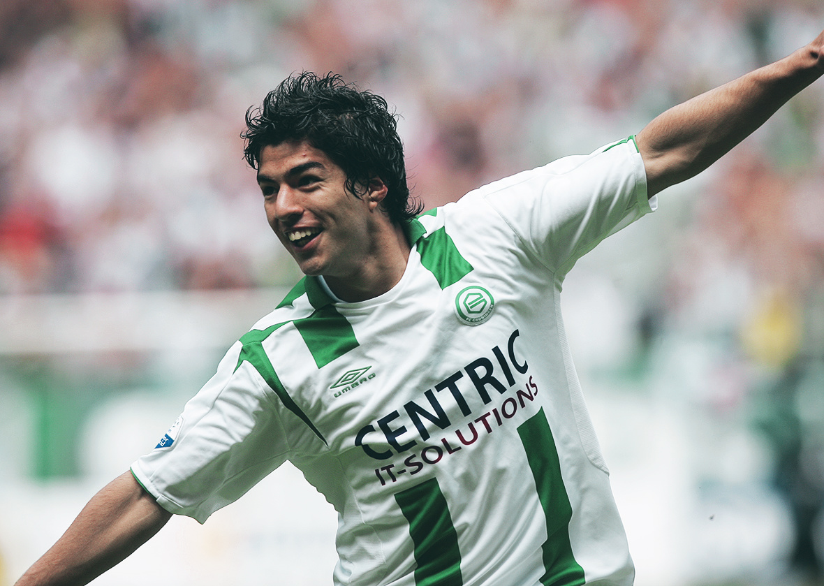 The making of Luis Suárez a year in Groningen