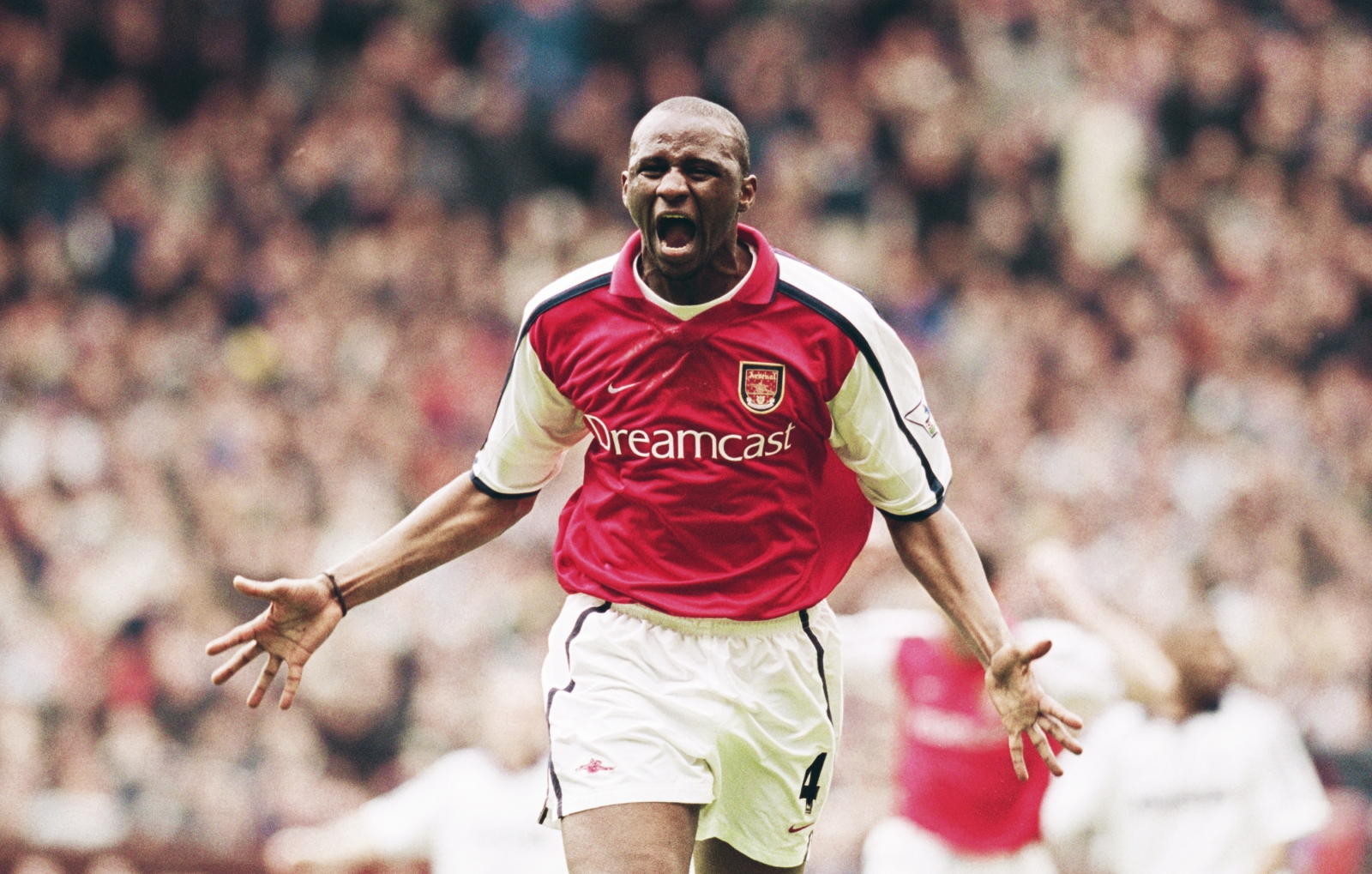 best authentic 7431f f1d4f How Patrick Vieira battled his way to become the complete ...