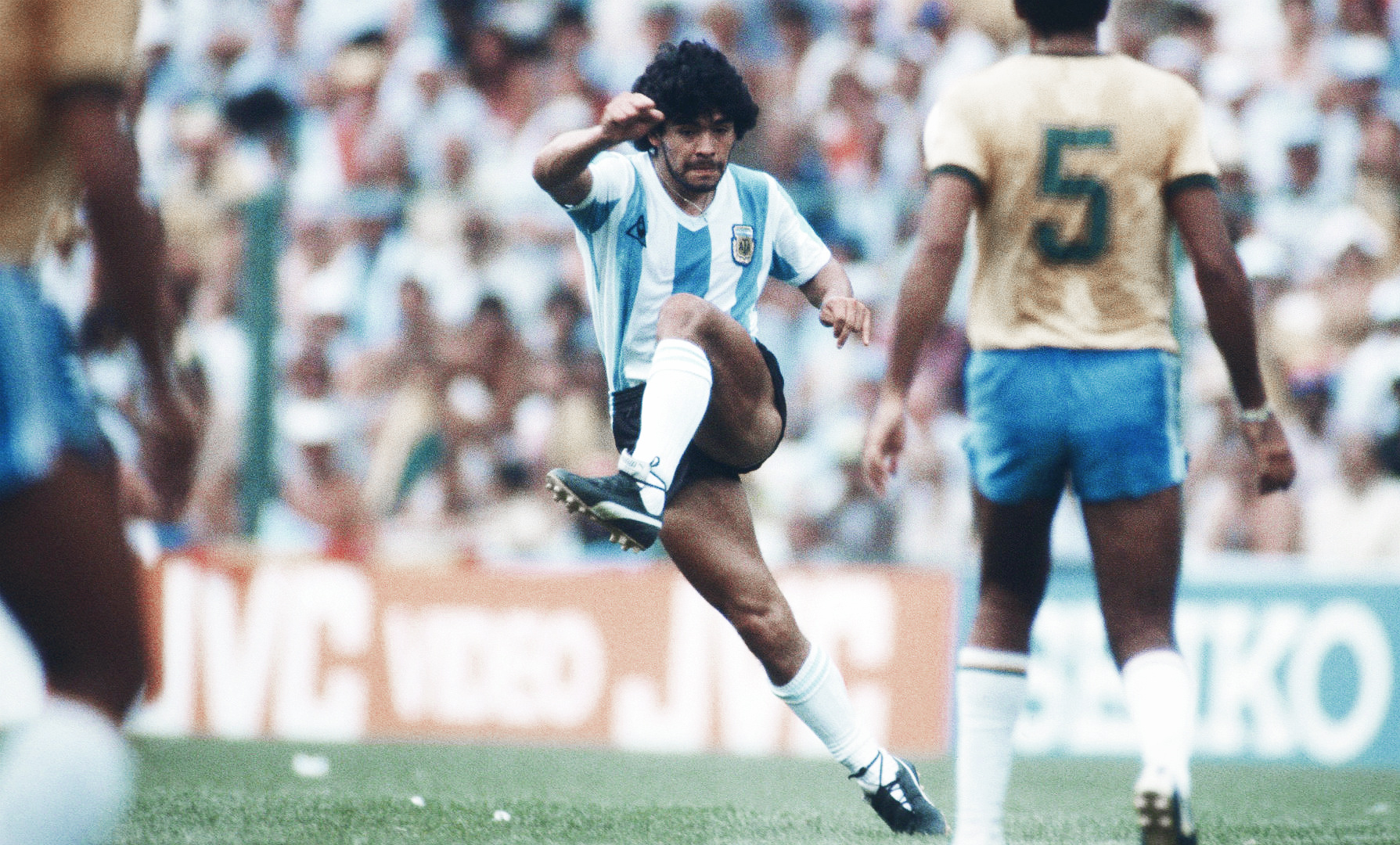 Diego Maradona At World Cup 1982 The Innocent Devil