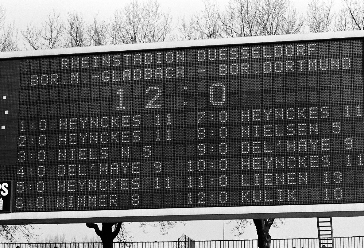 The day even the Bundesliga's greatest win wasn't enough