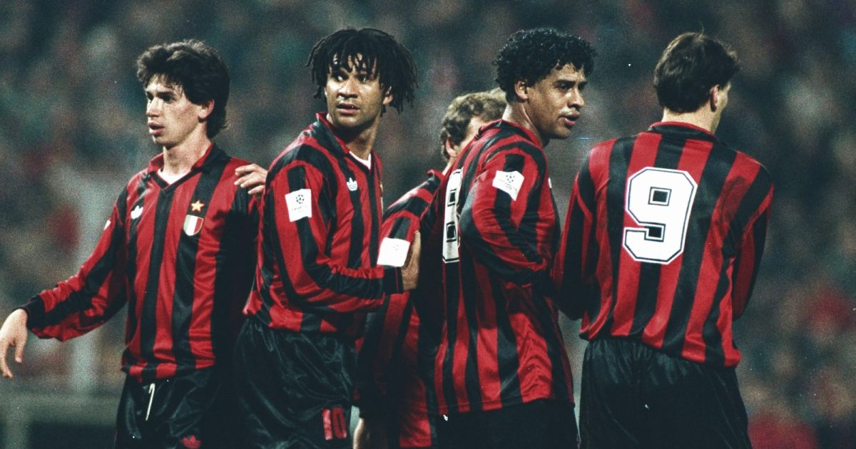 Ruud Gullit and Frank Rijkaard: from the streets of Amsterdam to European domination together