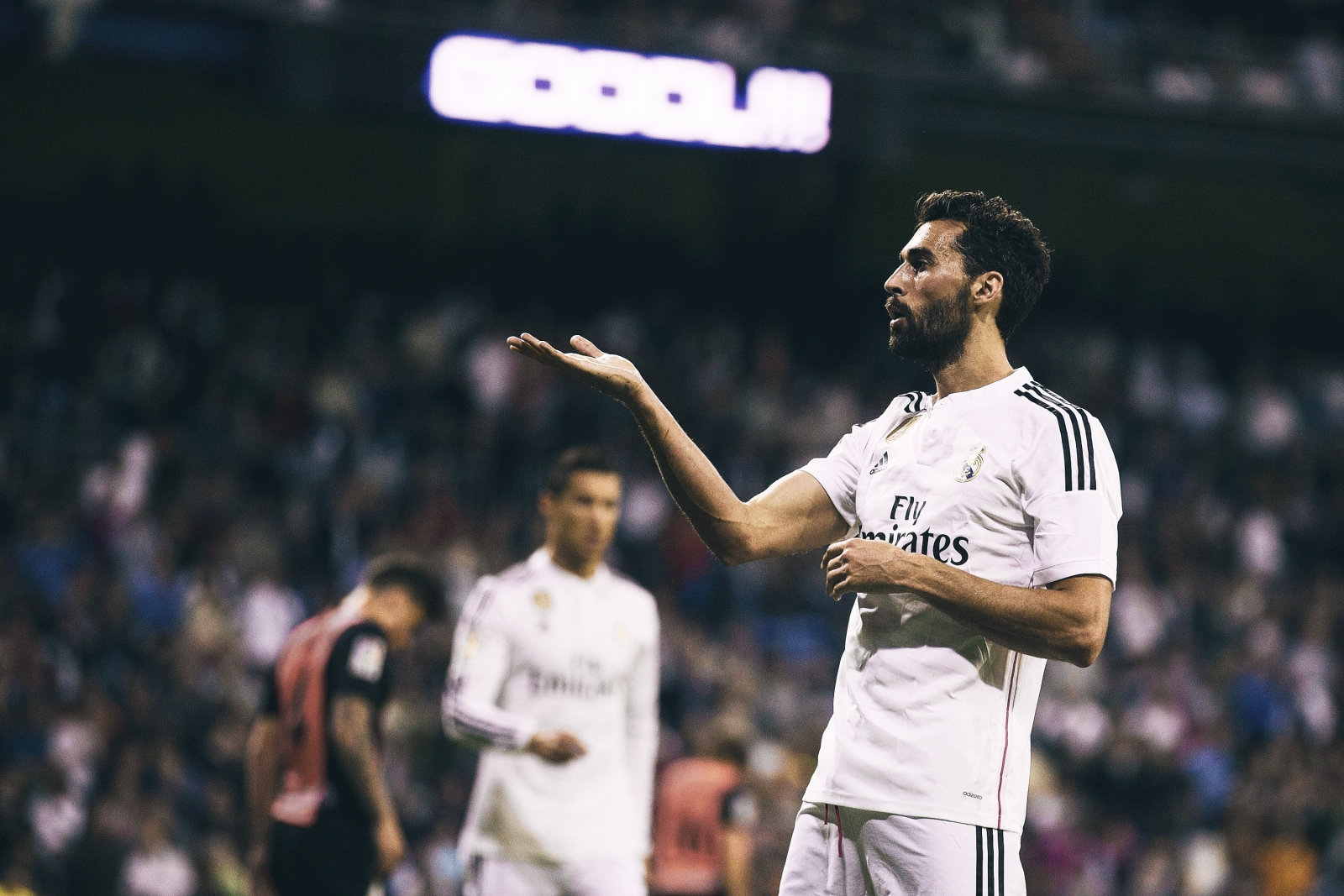 """... is the club of my life, I will never call to ask for a job, but I am  always available to offer myself."""" These were the parting words of Álvaro  Arbeloa ..."""