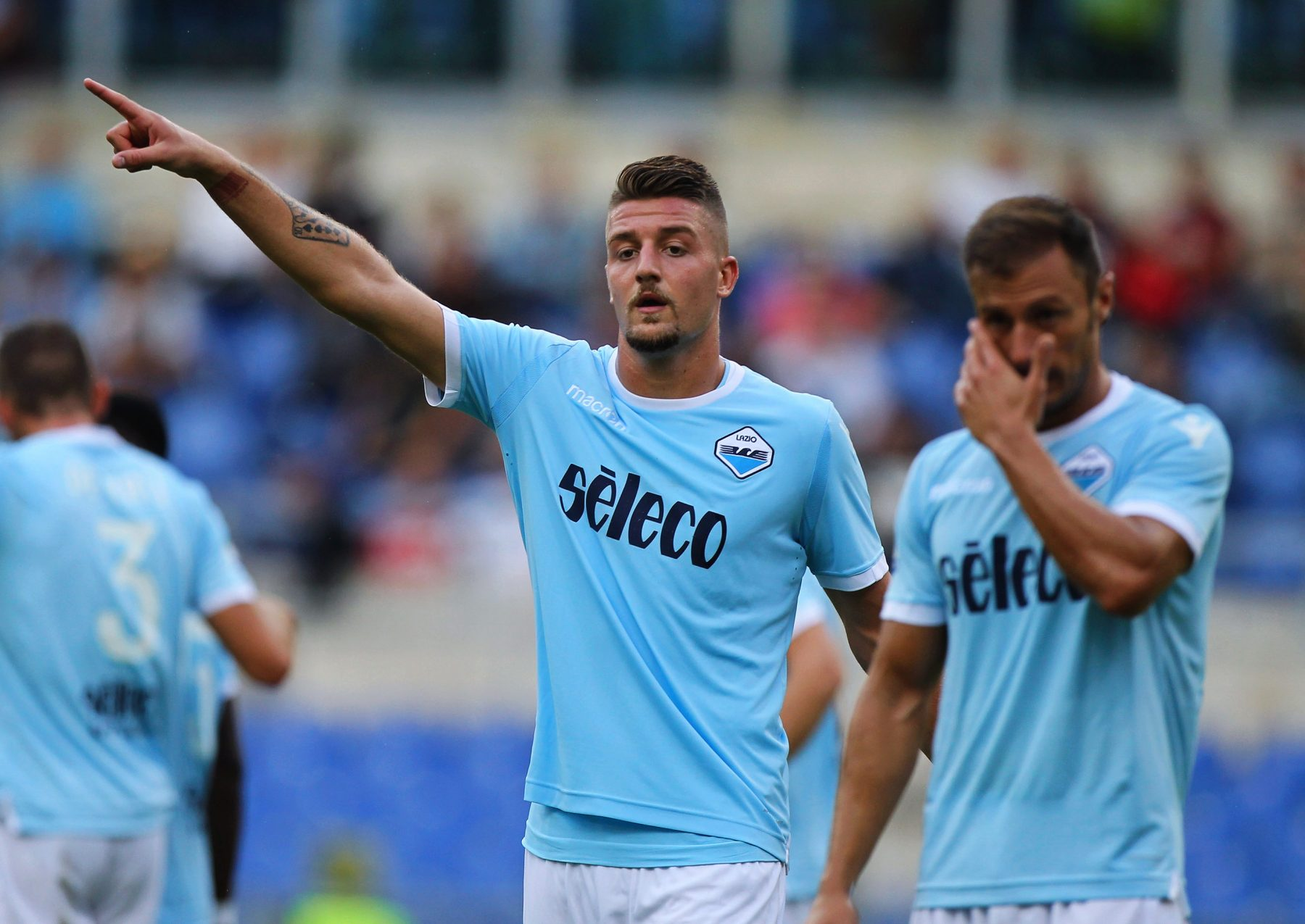 milinkovic savic - 5 Talking Points of Lazio V Juventus Match