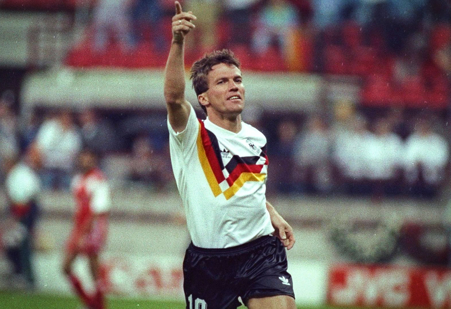 Franz Beckenbauer is a legendary figure, a large father, a charismatic leader
