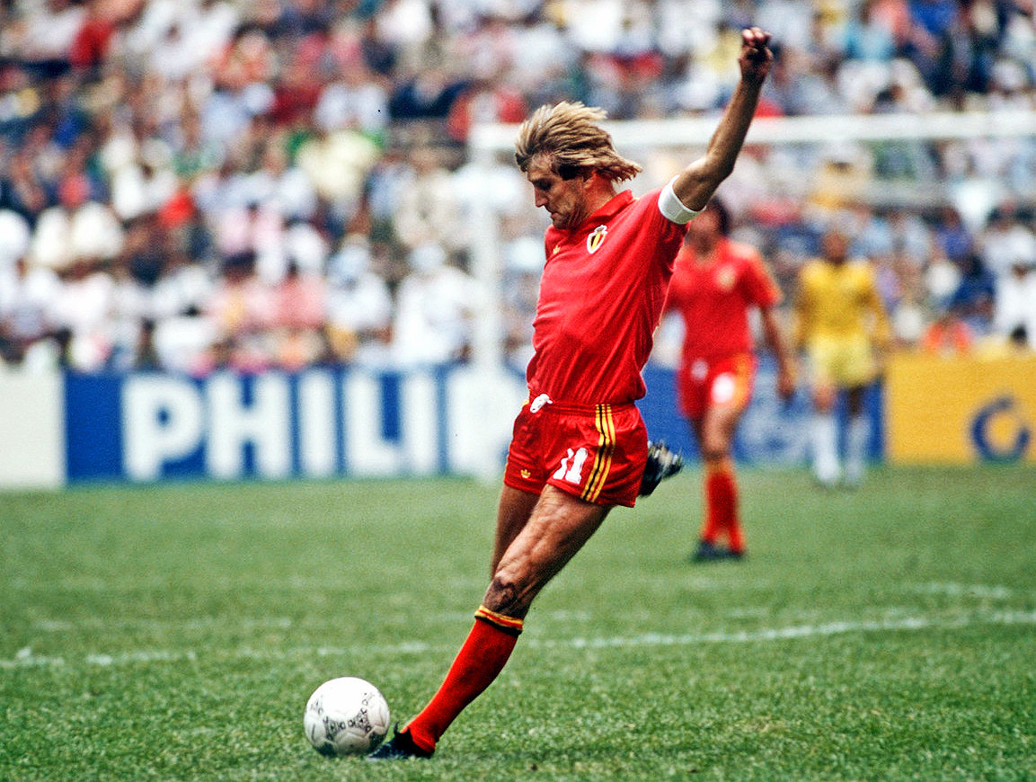 d1eb5f7be The last time Belgium lit up the World Cup  a run to the 1986 semi-finals