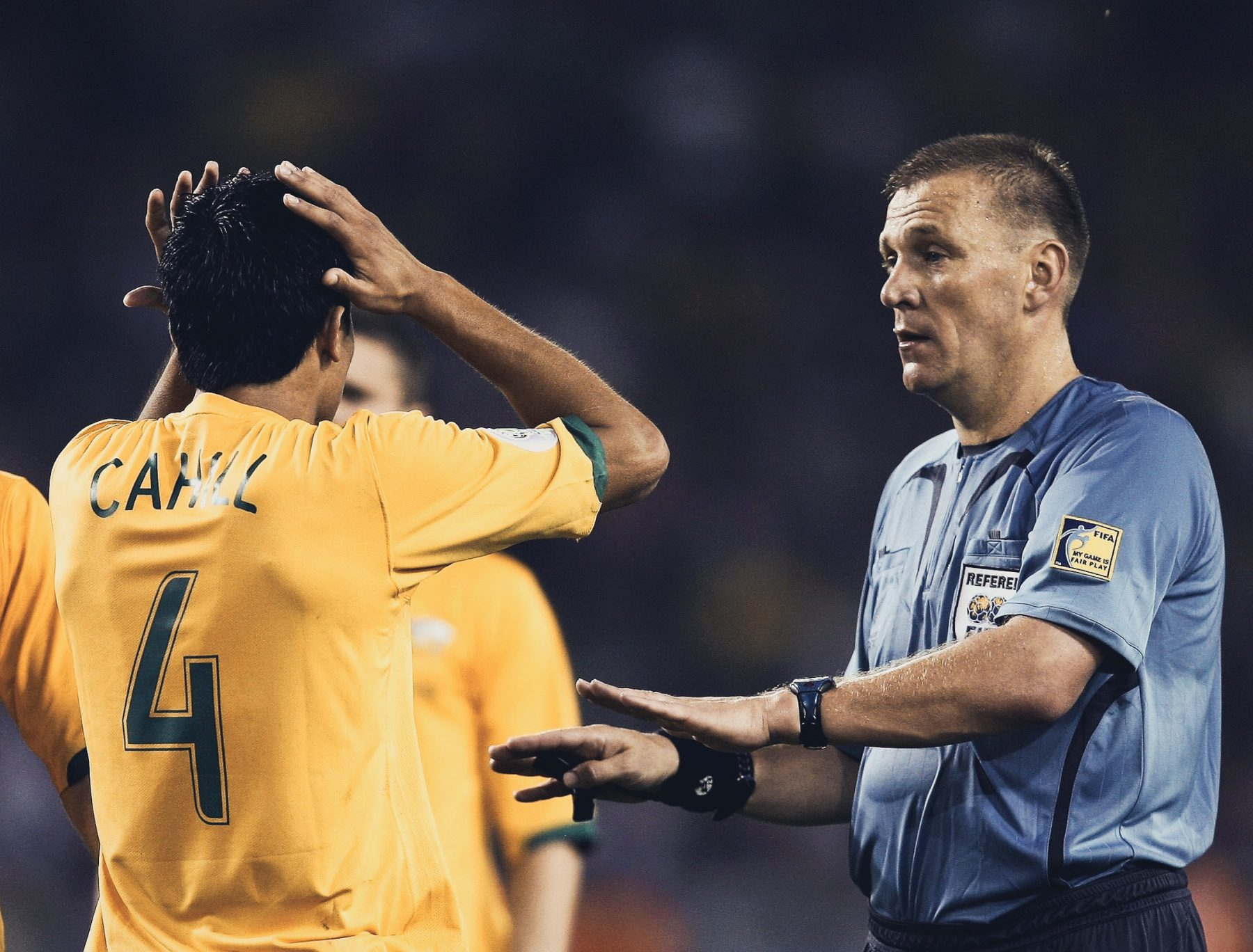 American Nightmare 2002 three yellow cards and one red face: graham poll's world cup