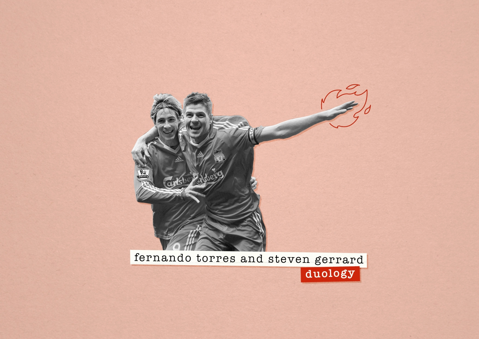 The telepathy of Steven Gerrard and Fernando Torres at their peak for  Liverpool 00ce325a7