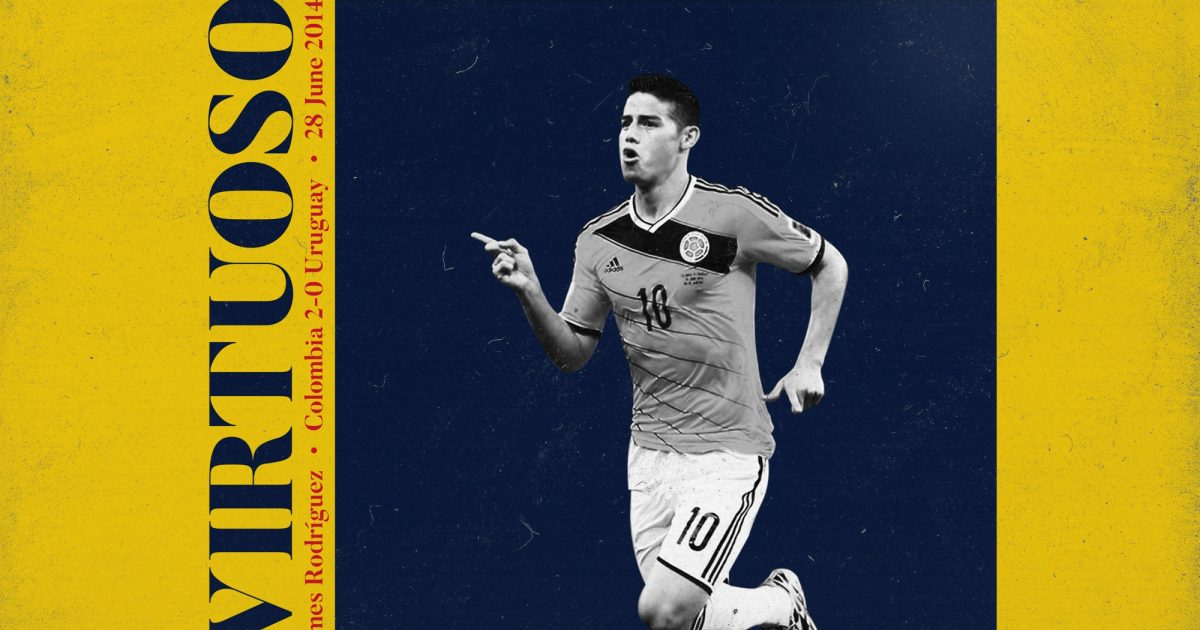 a3c65d20f26 James Rodríguez and one of the great individual World Cup showings of  all-time