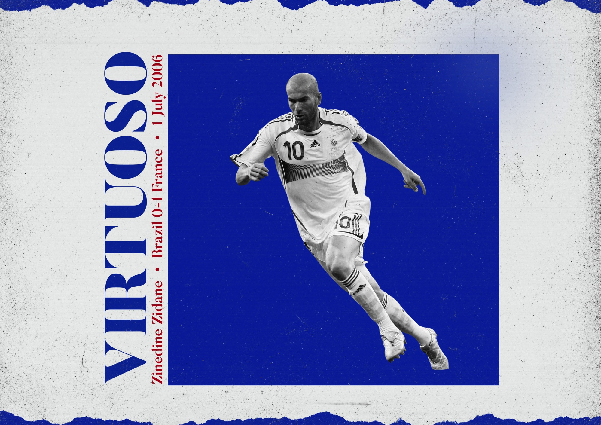 When Zinedine Zidane reminded us of his genius against Brazil in 2006