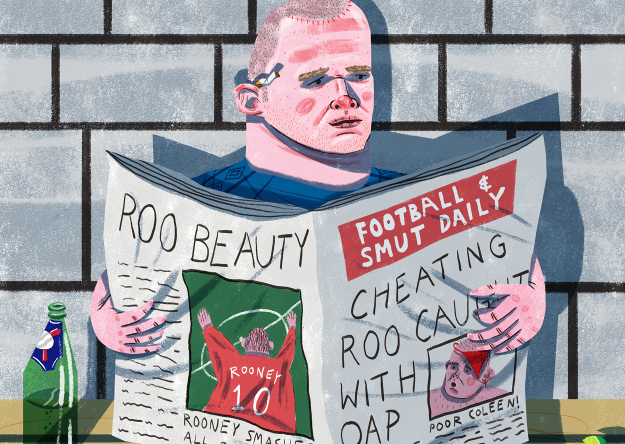 Daryl rainbow talks drawing footballers infamous sides for the gallery