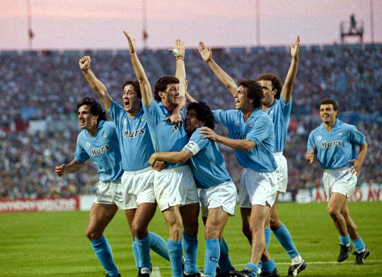 30a707b28 The Diego Maradona magic that helped Napoli lift the 1989 UEFA Cup