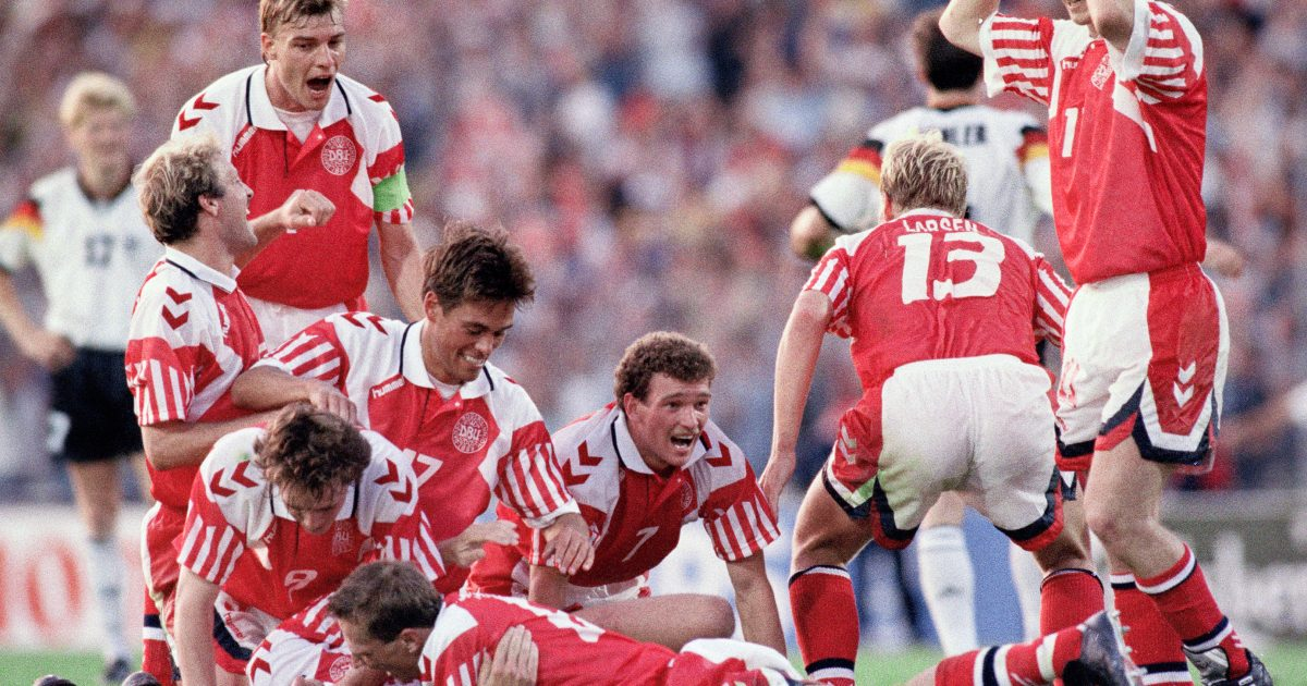 Eliminated, reinstated, celebrated: how Denmark beat a unified Germany to win Euro 92
